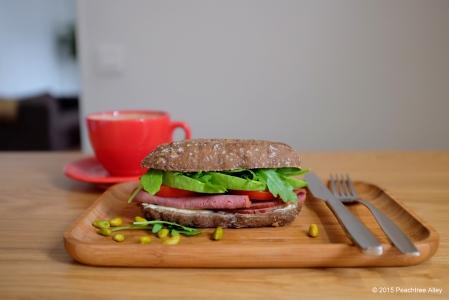 beef mini-sandwich