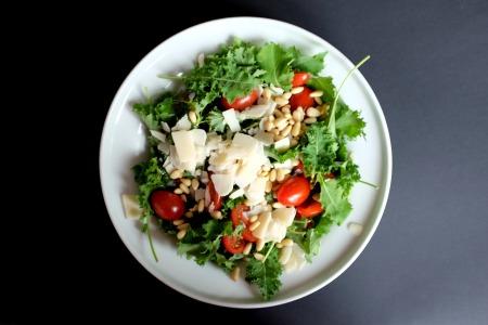 kale salad, kale in Monoprix