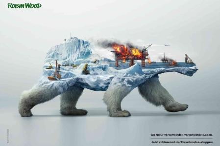 Robin Wood, disappearing animals, polar bear