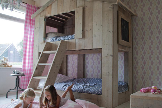 hut bed for children