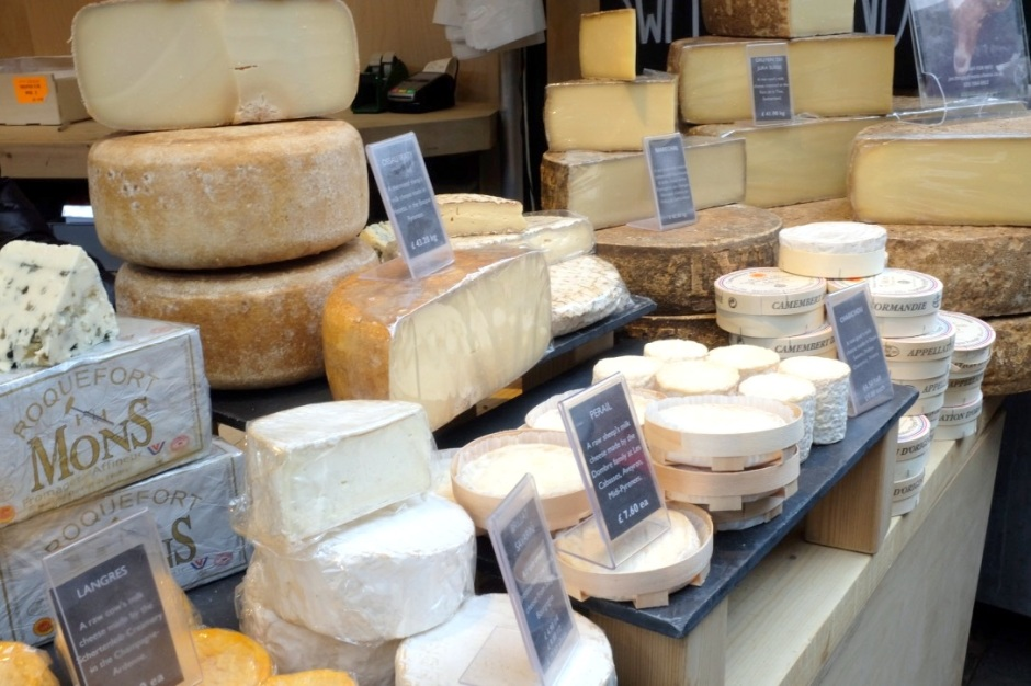 borough market, cheese