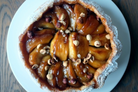 caramelised apple tart